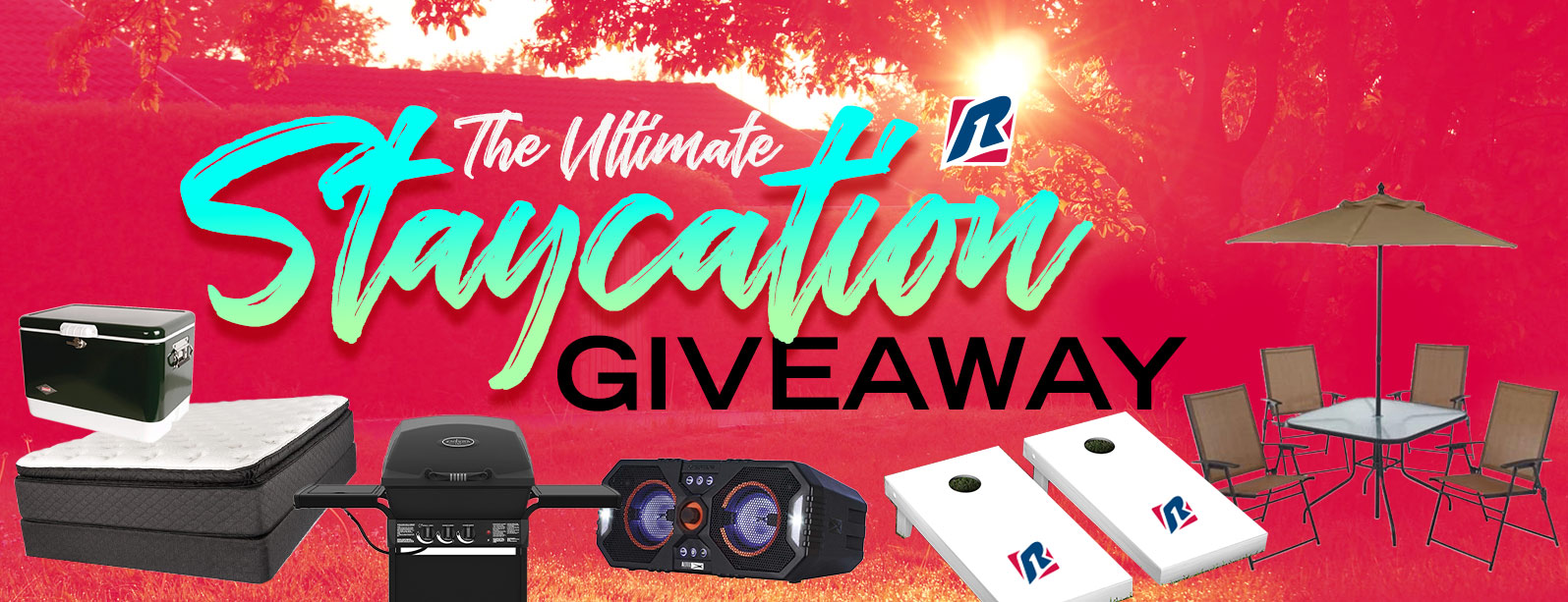 The Ultimate Staycation Giveaway